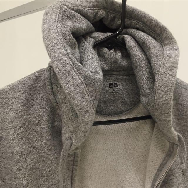 Zip-up Hoodie by Uniqlo.