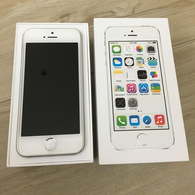 I Phone 5s 32G 銀白色