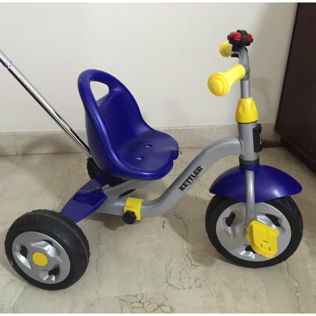 Kettler Push Tricycle Bike Babies Kids On Carousell