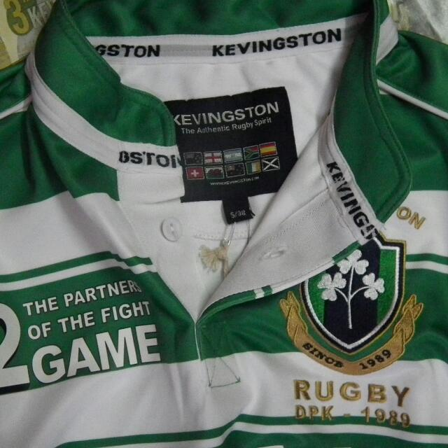 4b6e6caba0f KEVINGSTON AUTHENTIC RUGBY JERSEY, Antiques on Carousell