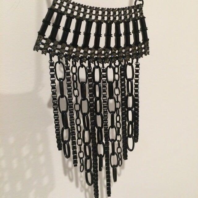 Necklace, Long, Black