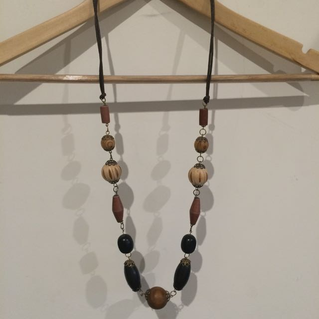 Necklace, Long, Rustic