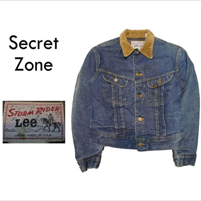 (已售出)[古著]SECRET ZONE / LEE🇺🇸牛仔工作外套