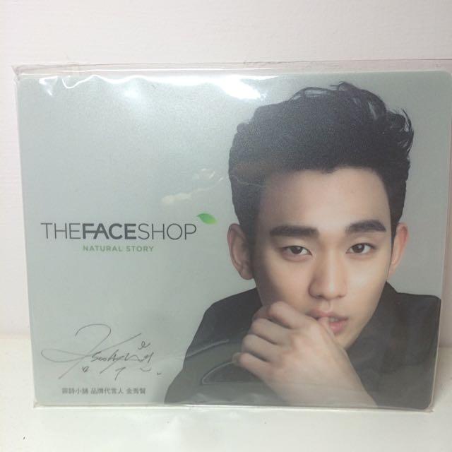 (保留中)The Face Shop金秀賢滑鼠墊