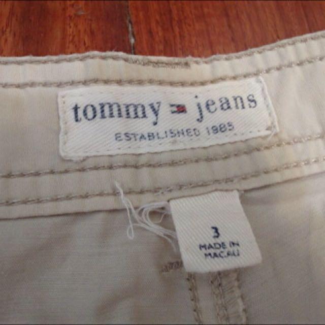 Tommy Jeans 女版卡其九分褲 休閒褲