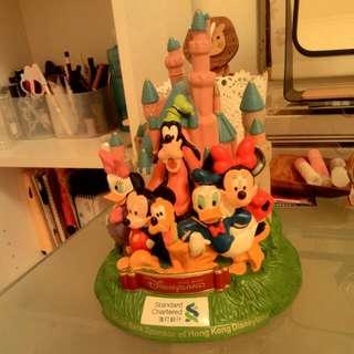 迪士尼人物 存錢桶