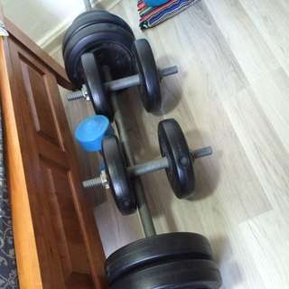 Old Set Of Complete Weights