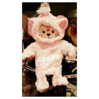 已售完♡香港迪士尼 瑪麗貓造型款- Shelliemay雪麗梅 S號 套裝衣服 拆版價 (不含娃娃)