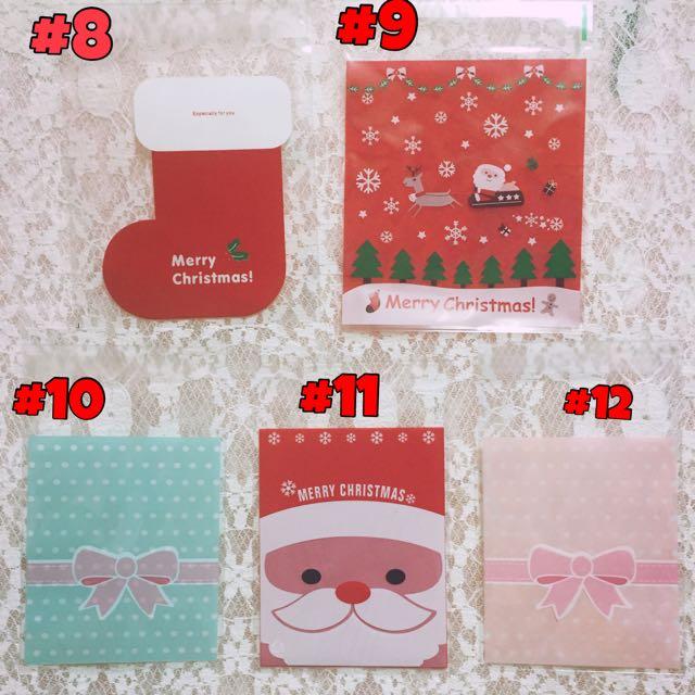 ✨全新現貨✨聖誕節10*10包裝袋/自黏袋