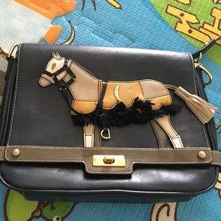 lapalette小馬側背包