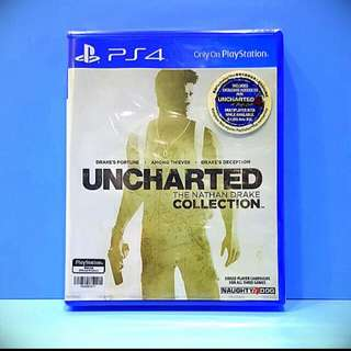 Uncharted The Nathan drake collection(reserved)