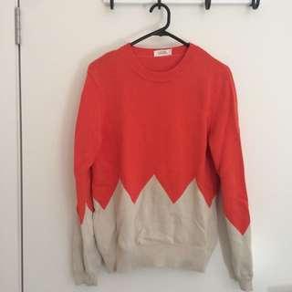 Vanishing Elephant Sweater
