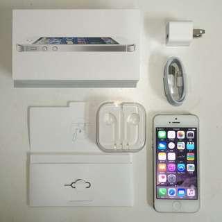 《降降降》iPhone 5 32G iOS 8.4 白色