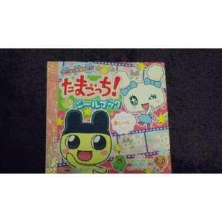 Never used Tamagotchi Sticker book