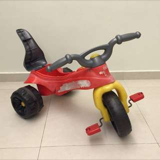 Fisher Price Kawasaki Ninja Tough Trike / Tricycle