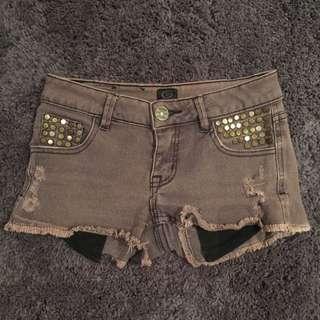 Ripcurl Purple Shorts