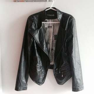 PENDING Leather Jacket