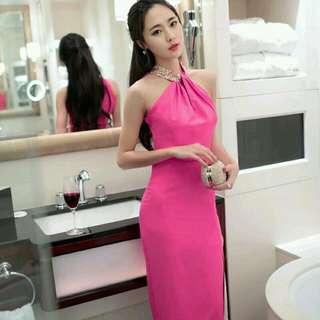 Pink Maxi Dress Size S