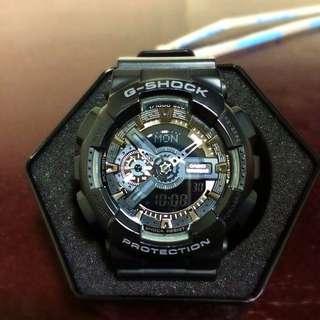 G-shock消光黑  經典款
