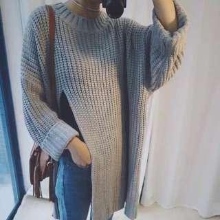 🔺長版開叉毛衣🔺