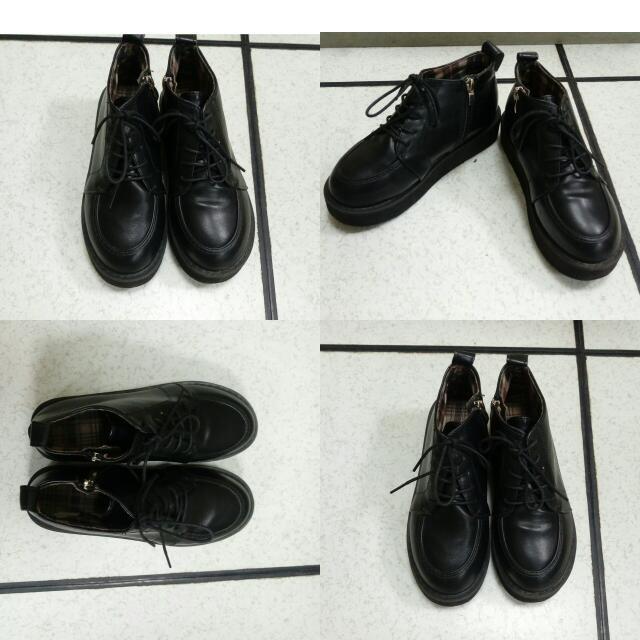 皮革靴子#五百元好女鞋