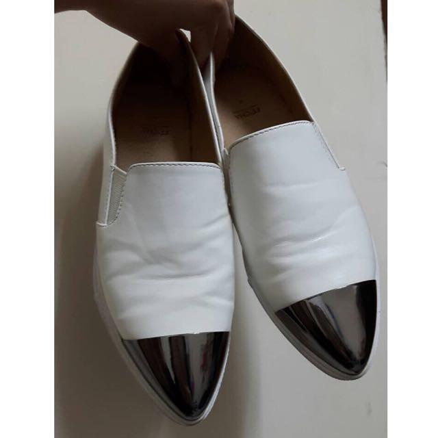 含運/正韓尖頭鞋(白)