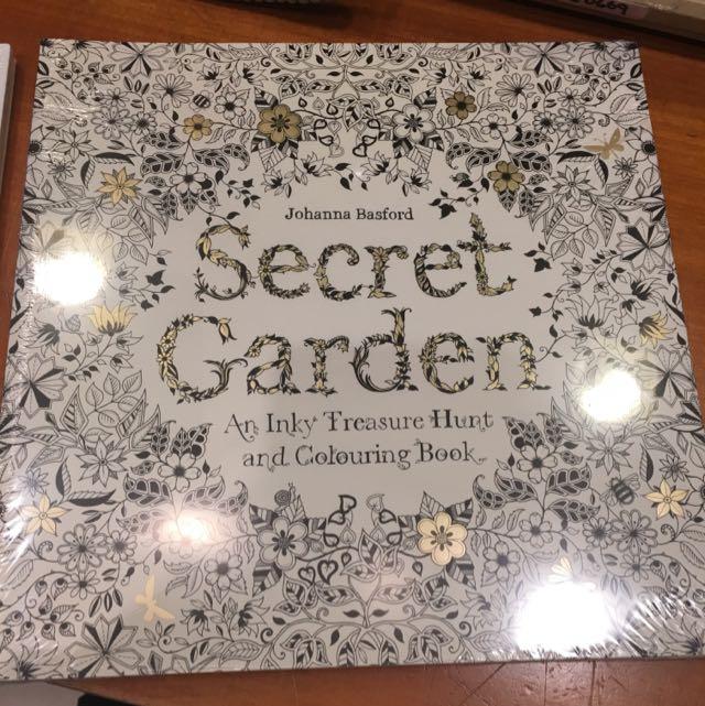 秘密花園 魔法森林繪本