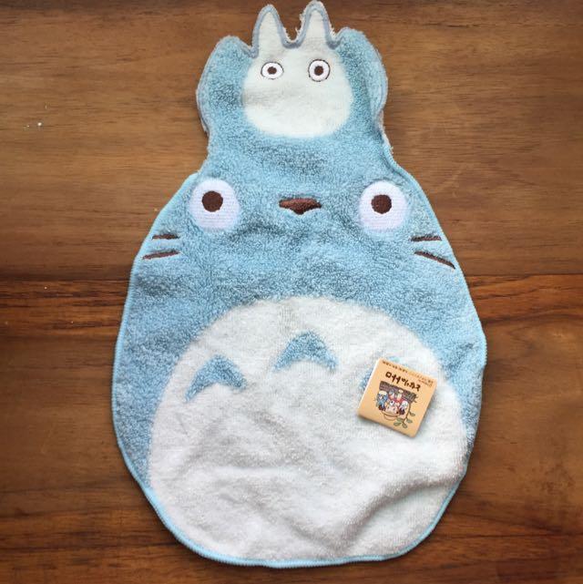 日本 宮崎駿 龍貓毛巾