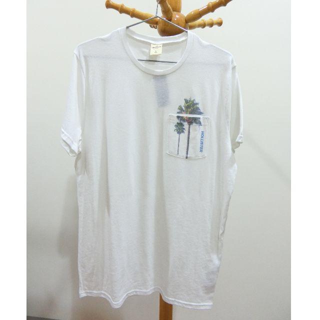 全新轉賣 香港帶回 HOLLISTER 短袖T恤 男 L號