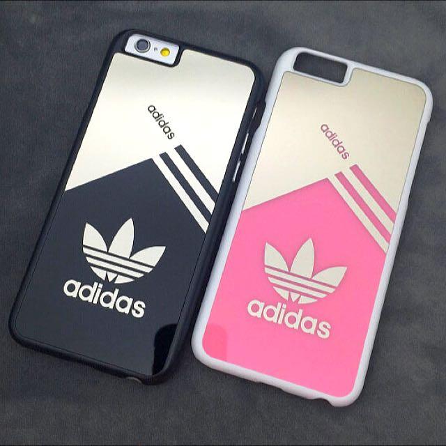 Po Adidas Iphone Mirror Case Electronics On Carousell