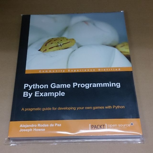 [BN] Python Game Programming By Example