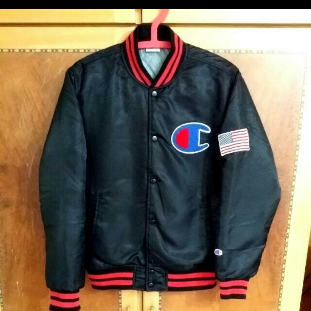 Champion大標誌😱棒球外套(9.5成)M號👍