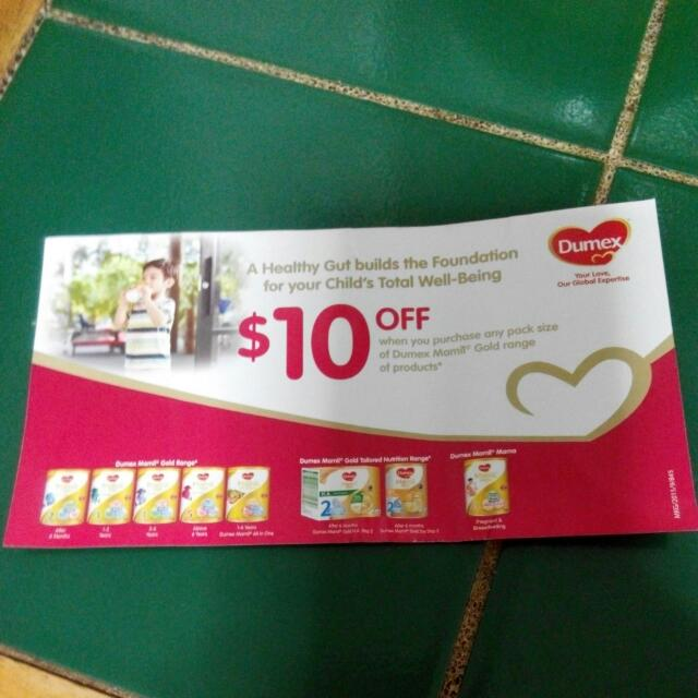 (reserved) Dumex Mamil Gold Voucher