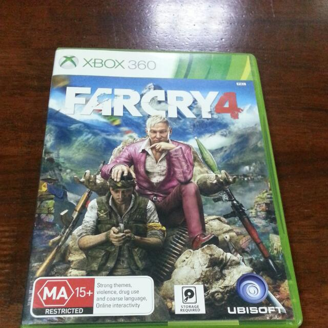 Far Cry 4 Xbox 360 Toys Games On Carousell