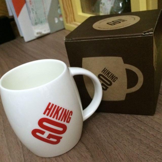 [全新]GO HIKING休閒運動品牌限量馬克杯(紅)