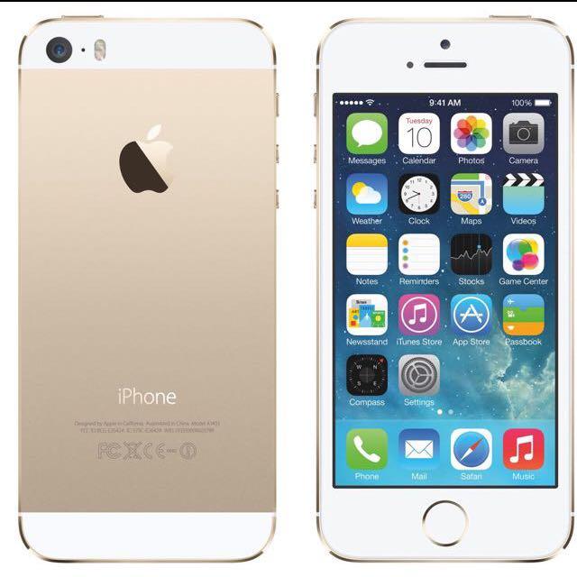 Iphone5s 32g金色