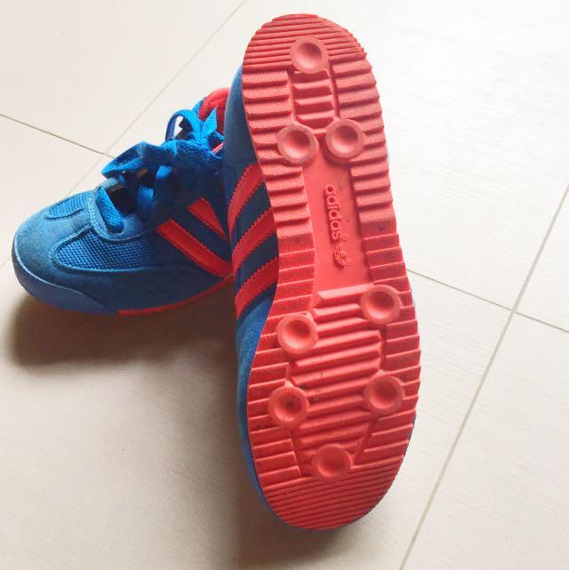 kids adidas dragon trainers