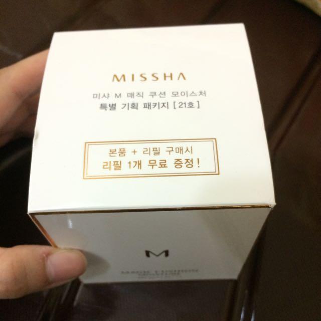 Missha 氣墊粉餅+粉蕊*2