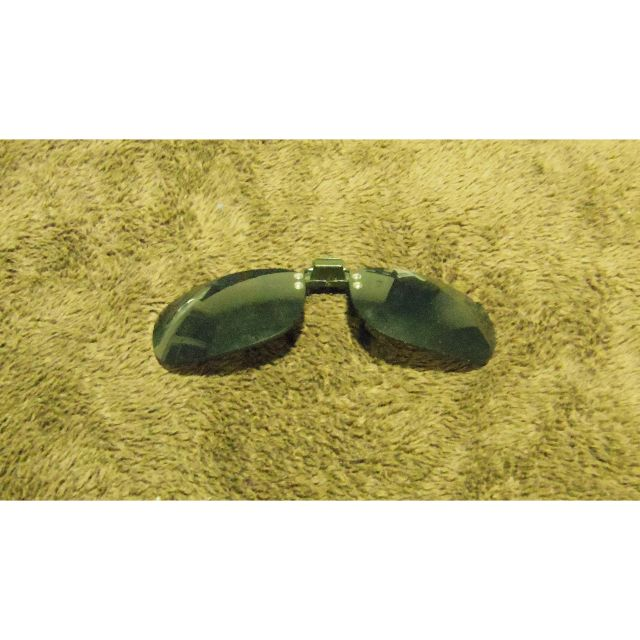 Never used Clip-on sunglasses
