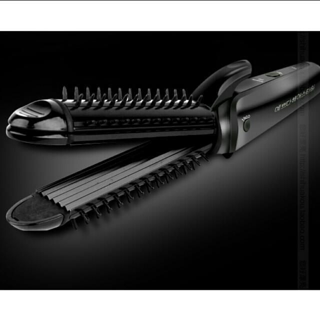 Straightener & Curler & Clamper (3in1)