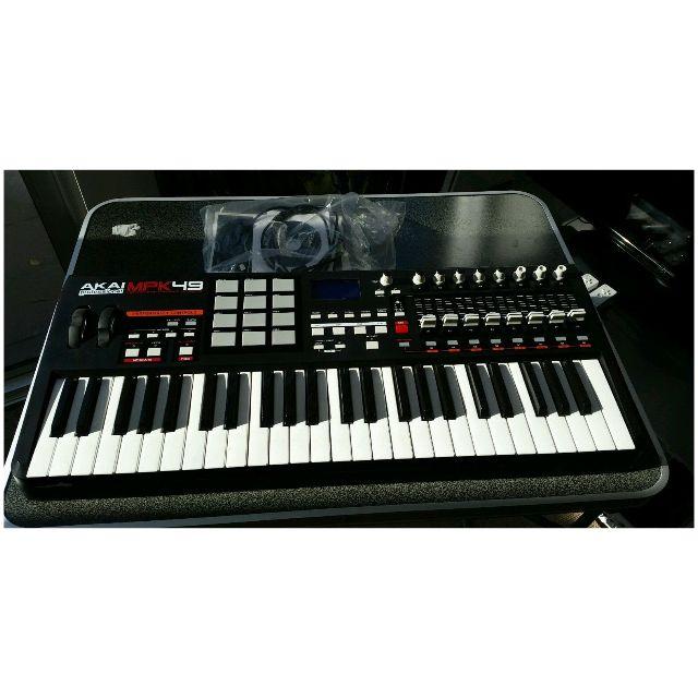 Used Akai MPK49 USB Midi keyboard