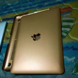 [Reserved] Macbook Pro 13 Inches Gold Hard Cover