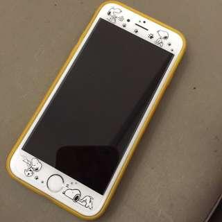 🐶🐶 Snoopy  9h鋼化玻璃貼 Iphone6