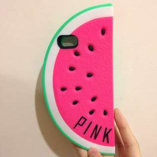 Victoria's Secret Pink 西瓜手機殼5/5s
