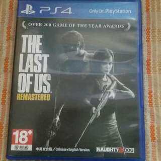 Ps4遊戲 The Last Ofus