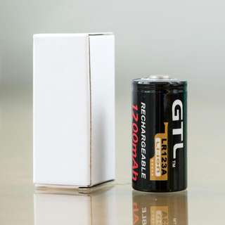 CR123A CR123 LR123A GTL 1200mAh 3V 3.0V Rechargeable Battery Cell