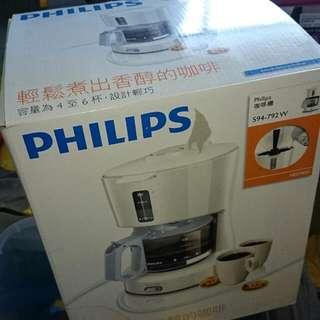 PHILIPS 咖啡機  全新