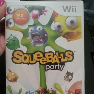 SqueeBalls Party Wii Game