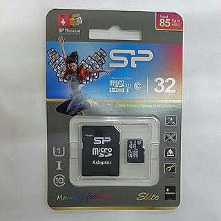 廣穎SP MicroSD 32G C10 U1 高速手機記憶卡
