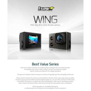 iSaw Action Camera WING